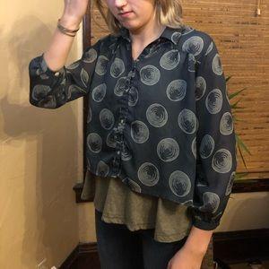 RVCA shirt women's blouse
